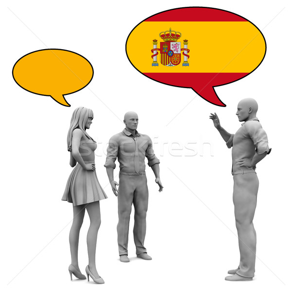 Learn Spanish Stock photo © kentoh
