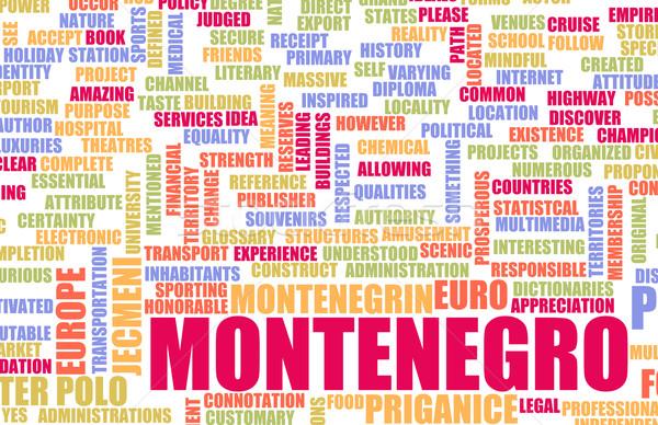 Montenegro Stock photo © kentoh