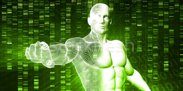 генетический анализ аннотация образование медицина Сток-фото © kentoh