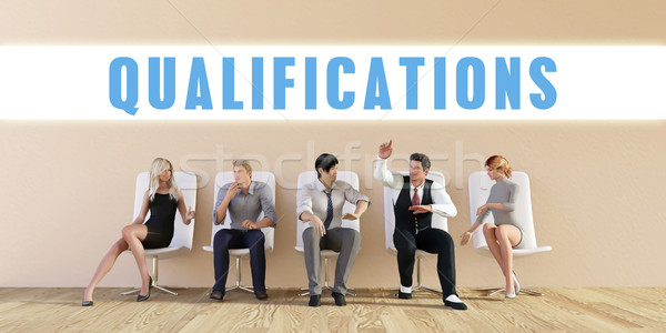 Business Qualifications Stock photo © kentoh