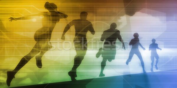 Fitness Technology Stock photo © kentoh