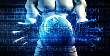 Internationale bedrijfsleven globale partners software digitale bedrijf Stockfoto © kentoh