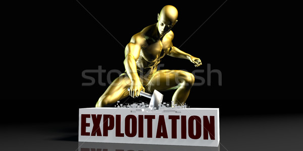 Exploitation Stock photo © kentoh