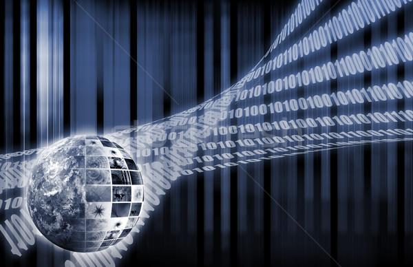 Futuristic Network Stock photo © kentoh