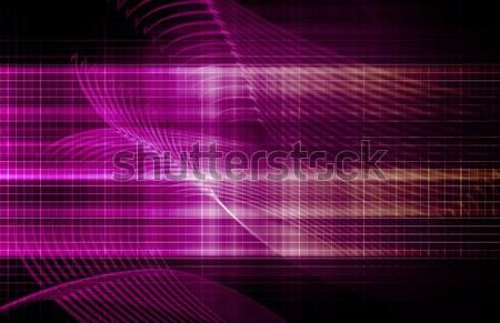 Yazılım güvenlik teknoloji veri sanat soyut Stok fotoğraf © kentoh