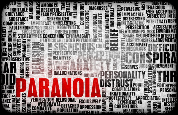 Paranoia Stock photo © kentoh