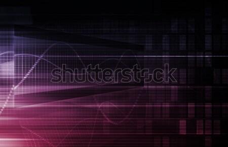 Statistiche analisi dati abstract sfondo web Foto d'archivio © kentoh