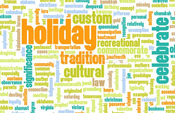 Holiday Stock photo © kentoh