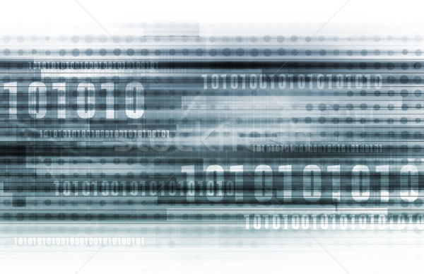 Binário dados código binário on-line internet projeto Foto stock © kentoh