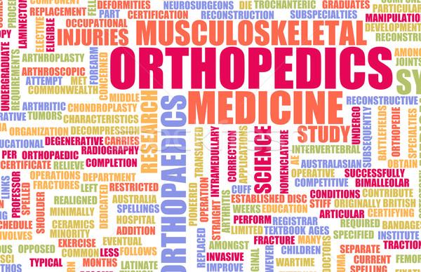 Ortopédia orvosi mező specialitás iroda orvos Stock fotó © kentoh