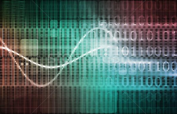 Technologie infrastructuur business computer zakenman onderwijs Stockfoto © kentoh