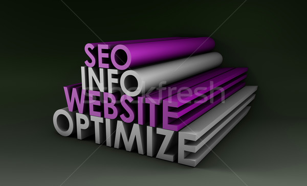 Keresőoptimalizálás információ weboldal internet terv technológia Stock fotó © kentoh