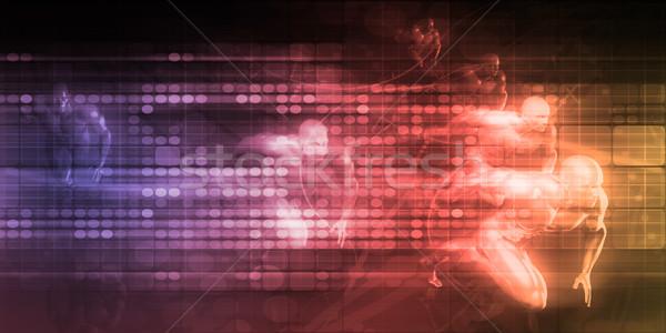 Internet conexão teia dados conectividade Foto stock © kentoh