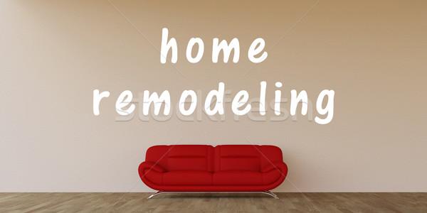 Home Remodeling Stock photo © kentoh