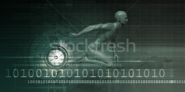 Dynamic Background Stock photo © kentoh