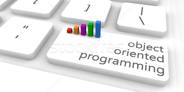 Object Oriented Programming Stock photo © kentoh