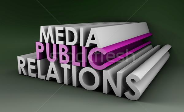 Public Relations Stock photo © kentoh