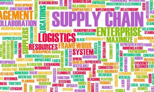 Supply Chain Stock photo © kentoh
