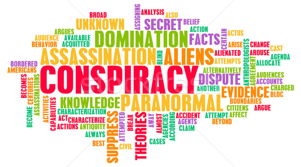 Conspiracy Stock photo © kentoh