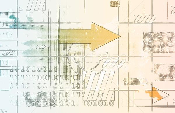 エンジニアリング ソフトウェア ハードウェア テクスチャ デザイン 背景 ストックフォト © kentoh