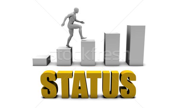 Estado negocios proceso empresarial oro Foto stock © kentoh