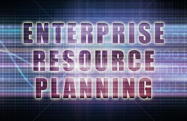 Enterprise Resource Planning Stock photo © kentoh