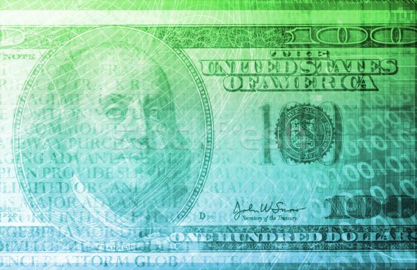 фондовой бирже технологий онлайн торговый бизнеса деньги Сток-фото © kentoh