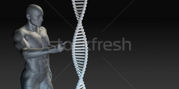 Orvostudomány kutatás fejlesztés absztrakt orvosi jövő Stock fotó © kentoh