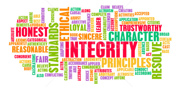 Integrity Stock photo © kentoh