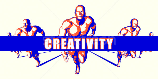 Creativity Stock photo © kentoh