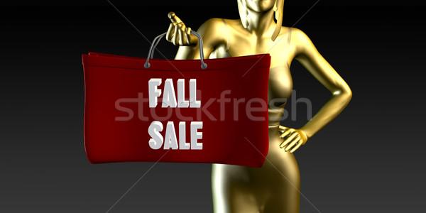Fall Sale Stock photo © kentoh