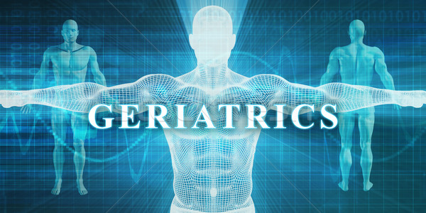 Geriatrics Stock photo © kentoh