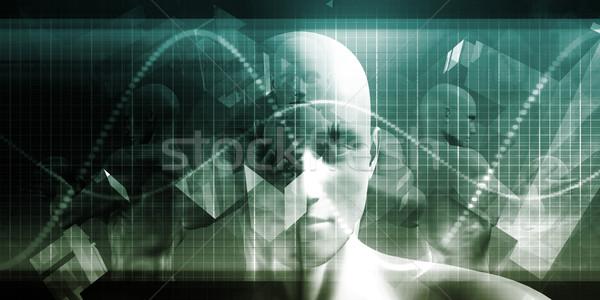Orvostudomány arc férfi orvos orvosi tudomány Stock fotó © kentoh