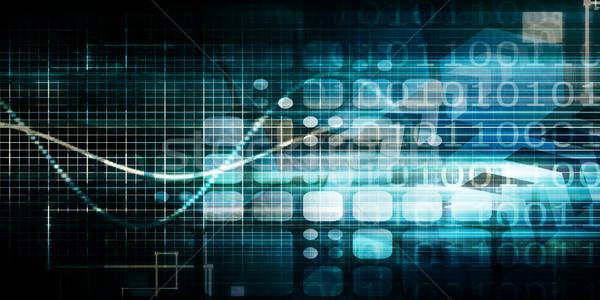 Stok fotoğraf: Veri · bütünleşme · veritabanı · yönetim · bilgisayar · teknoloji