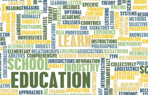 Education Sector Stock photo © kentoh