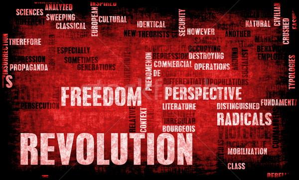 Revolution Stock photo © kentoh