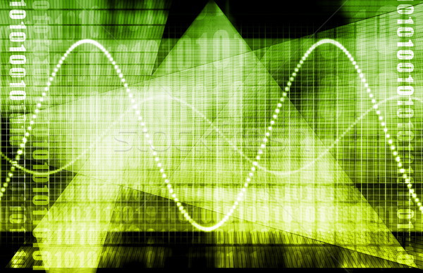 Telekommunikáció ipar globális hálózat földgömb világ Stock fotó © kentoh