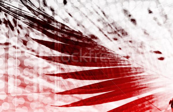 Moderno digital criador arte textura tecnologia Foto stock © kentoh