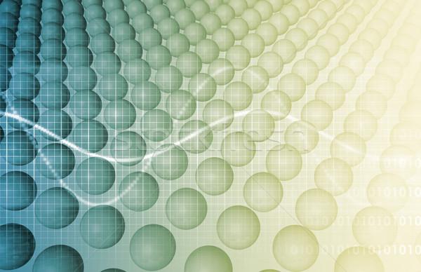 Negocios genética ADN investigación construcción tecnología Foto stock © kentoh