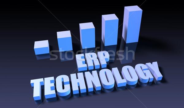 Erp technology Stock photo © kentoh