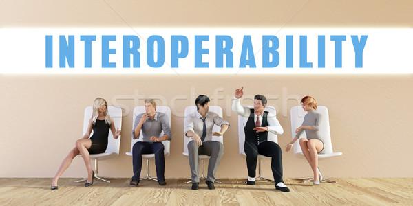 Business Interoperability Stock photo © kentoh