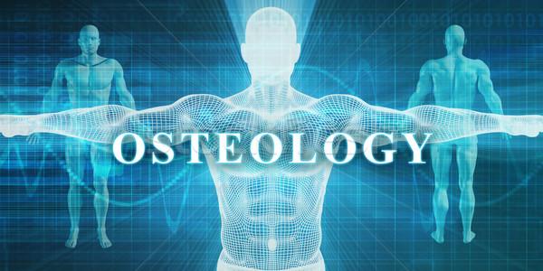 Médicos especialidad campo departamento hombre cuerpo Foto stock © kentoh