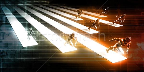 Training and Development Stock photo © kentoh