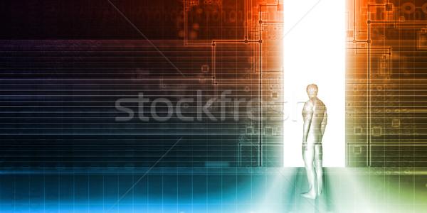 Security System Stock photo © kentoh