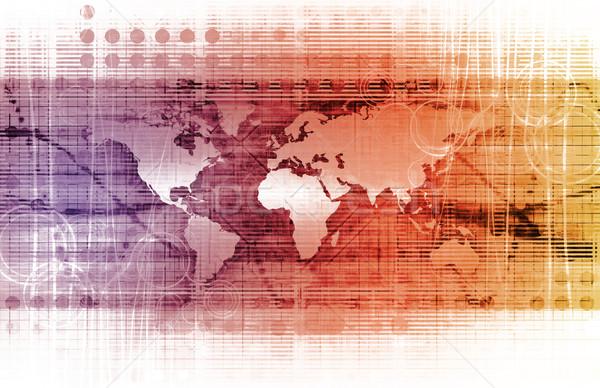 интегрированный решения веб крест скорости Сток-фото © kentoh