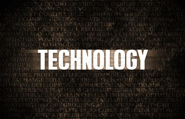 Zdjęcia stock: Technologii · działalności · motywacja · mur · ściany · tle