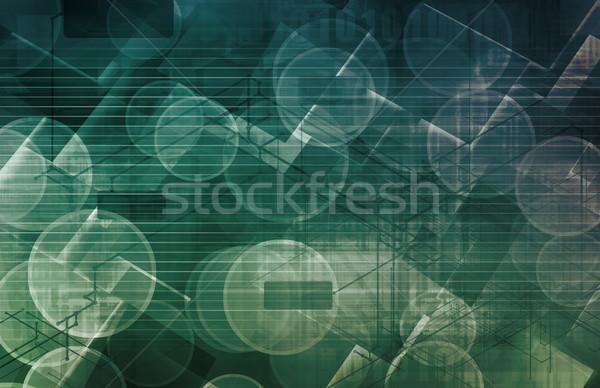 Medical Technology Background Stock photo © kentoh