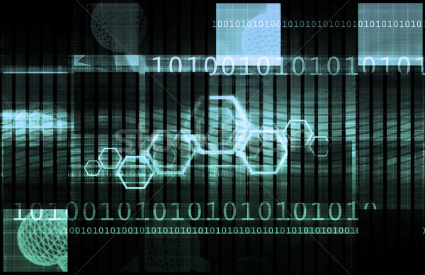 Beurs analyse trends toekomst digitale informatie Stockfoto © kentoh