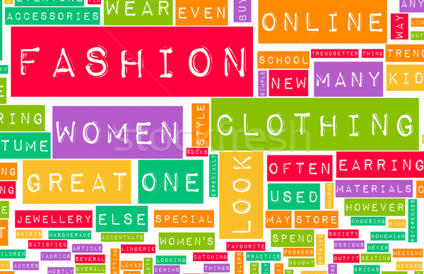 Fashion Industry Stock photo © kentoh