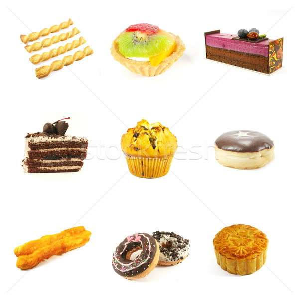 Pastries and Cakes Stock photo © kentoh
